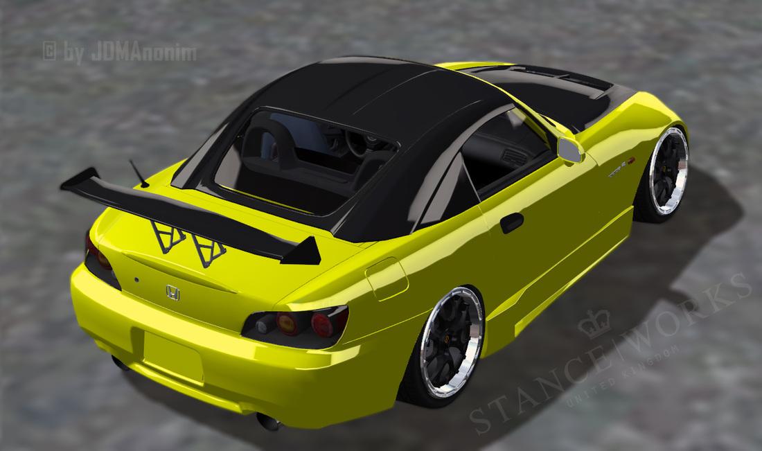 240sx Fairlady >> Honda S2000 - JDM Slammed